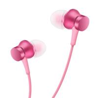 Вакуумные наушники (гарнитура) Xiaomi Mi In-Ear Headphones Basic Pink (розовые) / Xiaomi Piston Basic
